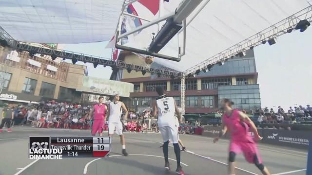 Séjour chinois à oublier pour les basketteurs du 3x3