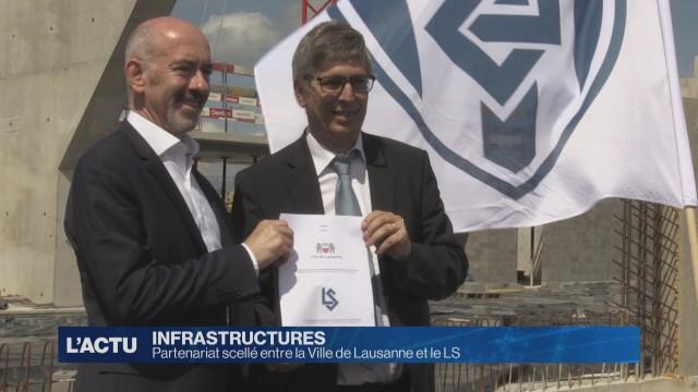 Partenariat scellé entre la Ville de Lausanne et le LS