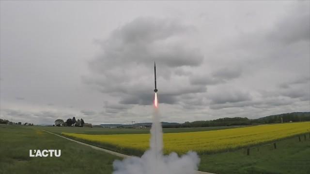 Une fusée de l'EPFL part aux USA
