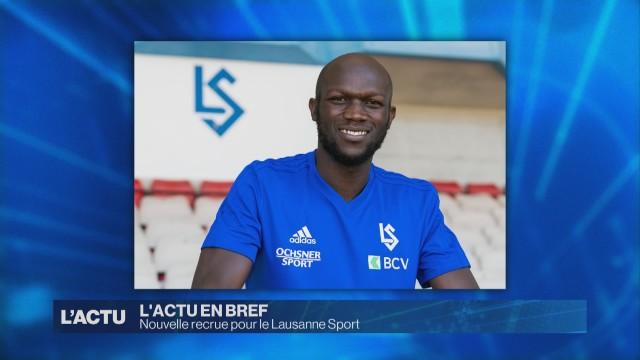 Nouvelle recrue pour le Lausanne Sport