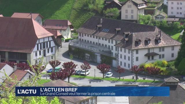 La prison centrale de Fribourg fermera-t-elle ?