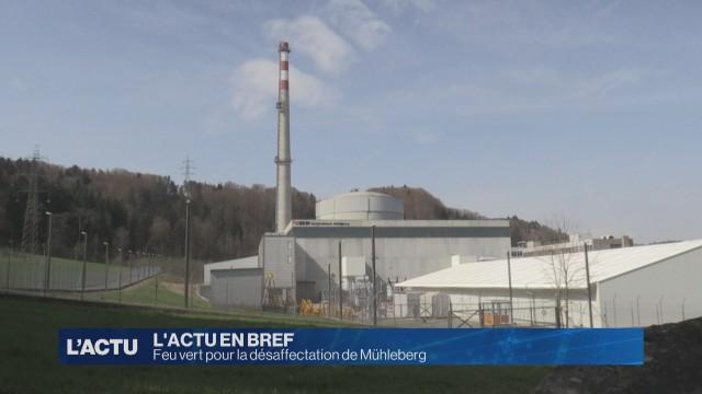 Le DETEC donne son feu vert à la désaffectation de Mühleberg