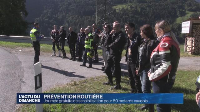 Journée gratuite de prévention pour 80 motards vaudois