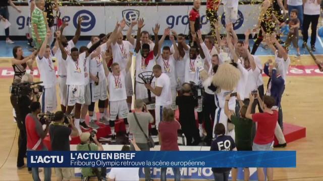 Fribourg Olympic retrouve la scène européenne