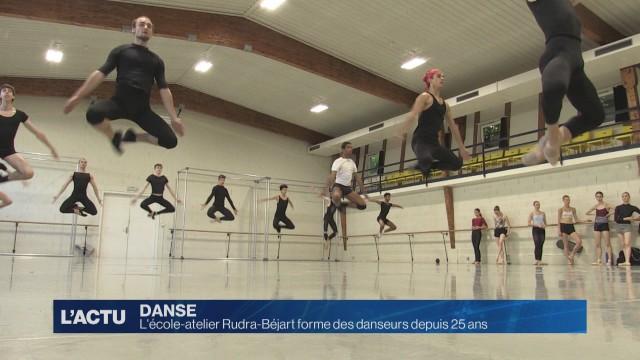 L'école Rudra-Béjart forme depuis 25 ans des danseurs
