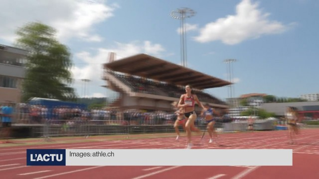 Lea Sprunger pulvérise son propre record national