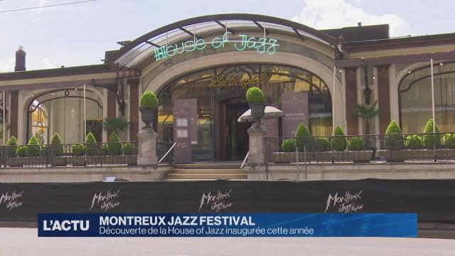 Découverte de la House of Jazz inaugurée au Montreux Jazz