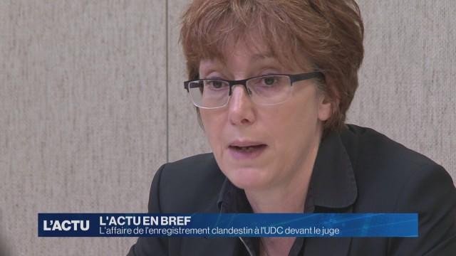 L'enregistrement clandestin à l'UDC devant le juge