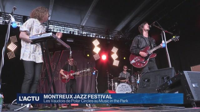 Polar Circles en concert au Montreux Jazz Festival