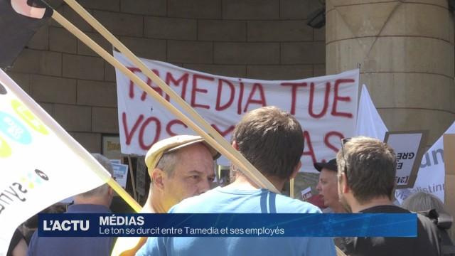 Le ton se durcit entre Tamedia et ses employés