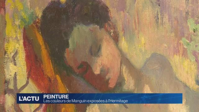 Les couleurs de Manguin exposée à l'Hermitage