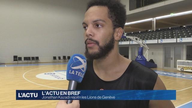 Jonathan Kazadi rejoint les Lions de Genève