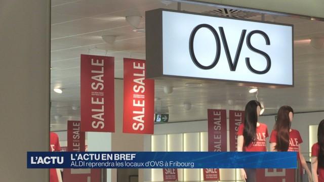 Aldi reprendra les locaux d'OVS à Fribourg
