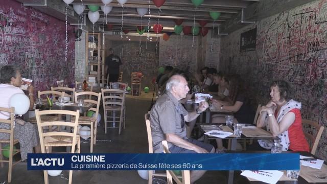 La première pizzeria de Suisse fête ses 60 ans