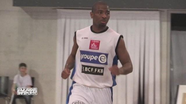 André Williamson est de retour à Fribourg Olympic