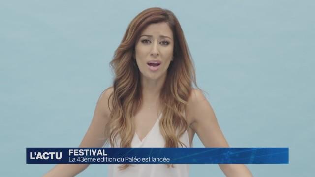 La 43ème édition du Paléo Festival est lancée