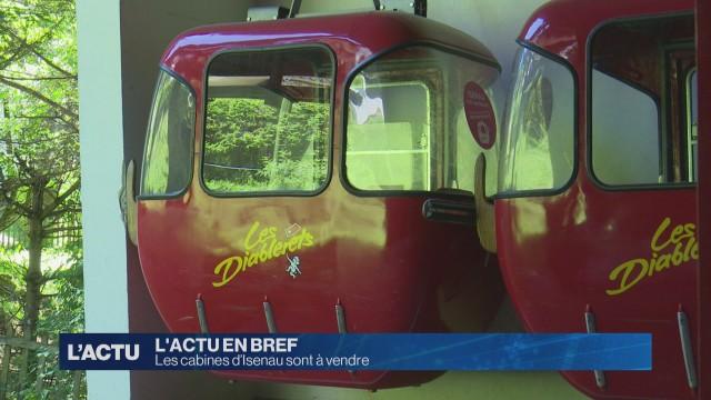 Les cabines d'Isenau sont à vendre