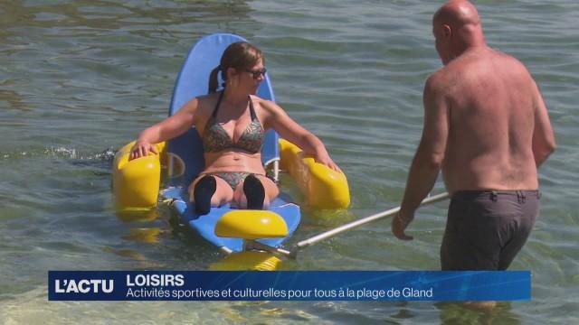 Activités gratuites pour tous à la plage de Gland