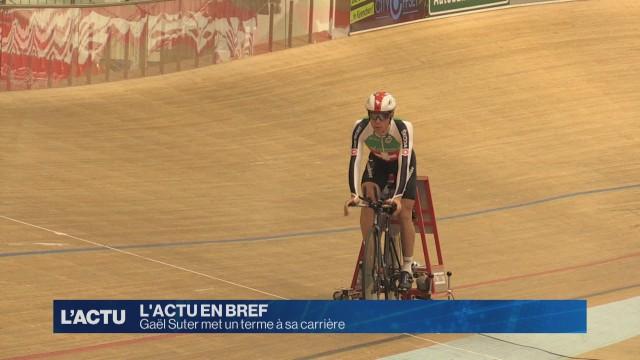 Gaël Suter prend sa retraite sportive