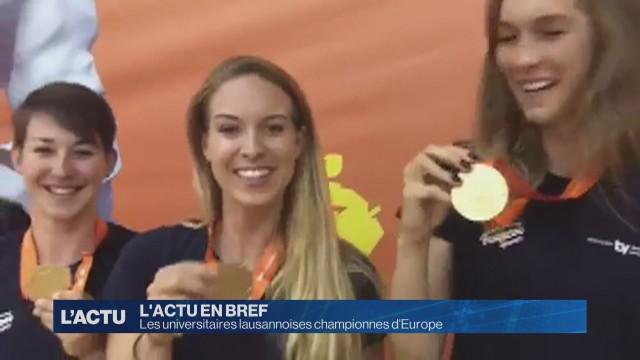 Les universitaires lausannoises championnes d'Europe
