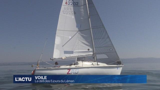 5 jours du Léman: 120 heures de navigation non-stop