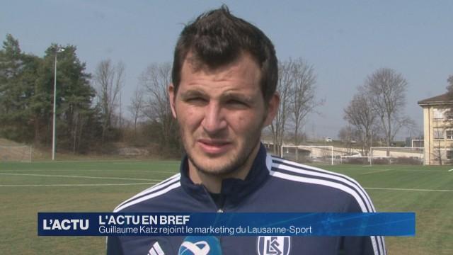 Guillaume Katz rejoint le marketing du Lausanne-Sport