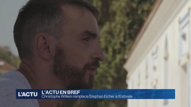 Christophe Willem remplace Stephan Eicher à l'Estivale.