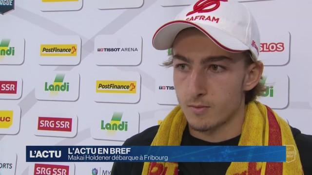 Makai Holdener quitte Genève pour rejoindre Fribourg