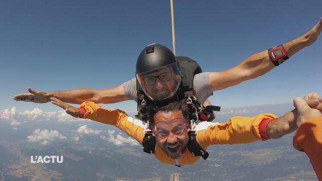Une semaine pour découvrir le parachutisme
