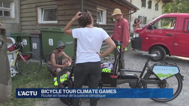 Rouler en faveur de la justice climatique