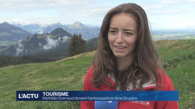 Mathilde Gremaud devient l'ambassadrice de la Gruyère