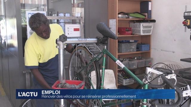 Rénover des vélos pour se réinsérer professionnellement