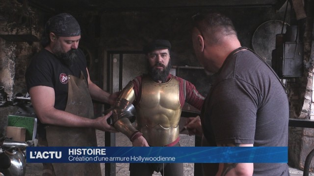 Création d'une armure Hollywoodienne