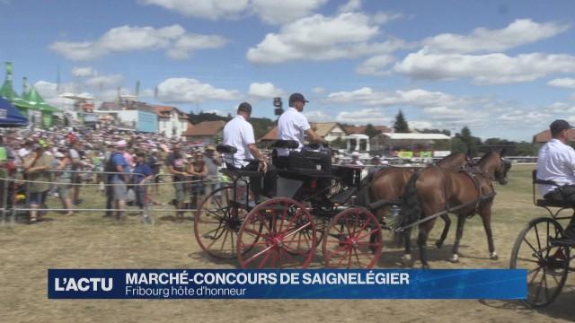 Fribourg hôte d'honneur du Marché-Concours de Saignelégier