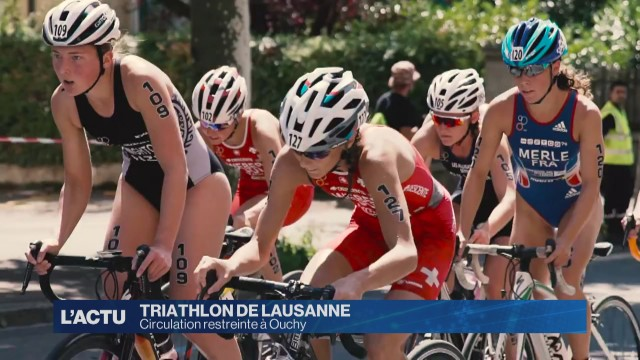 Circulation restreinte à Ouchy à cause du Triathlon