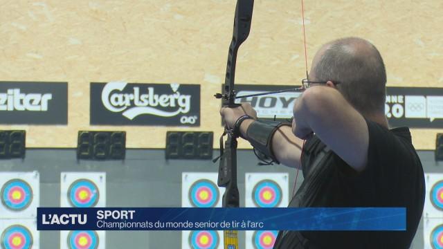 Championnats du monde senior de tir à l'arc 2018