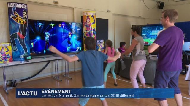 Le festival Numerik Games prépare un cru 2018 différent