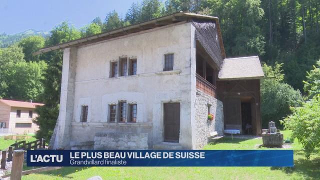 Grandvillard finaliste pour le plus beau village de Suisse