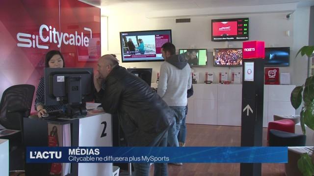 La fin de MySports sur Citycable