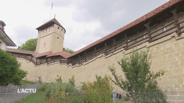 Visite inédite des remparts de Fribourg