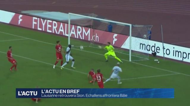 Coupe de Suisse, Echallens affrontera Bâle