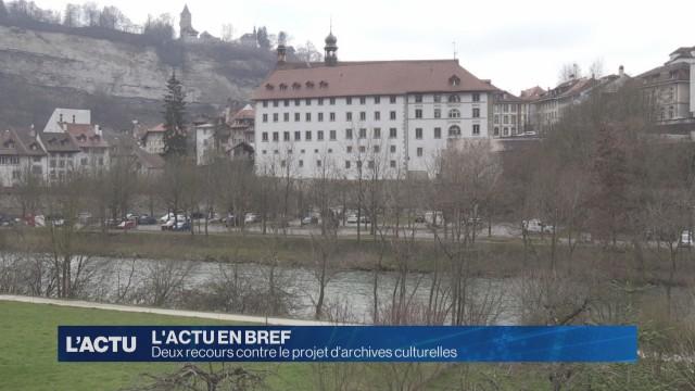 Recours contre le projet d'archives culturelles à Fribourg