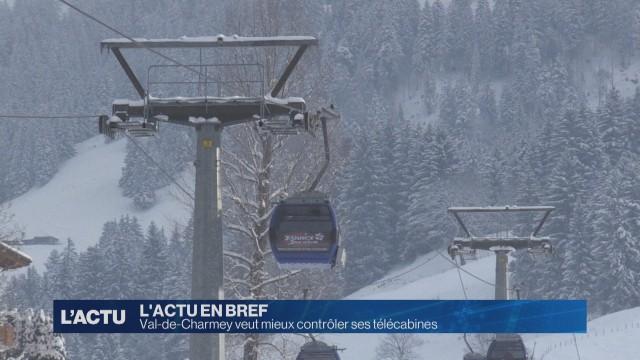 Val-de-Charmey veut mieux contrôler ses télécabines