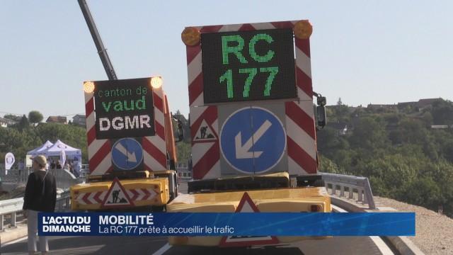 La RC 177 prête à accueillir le trafic