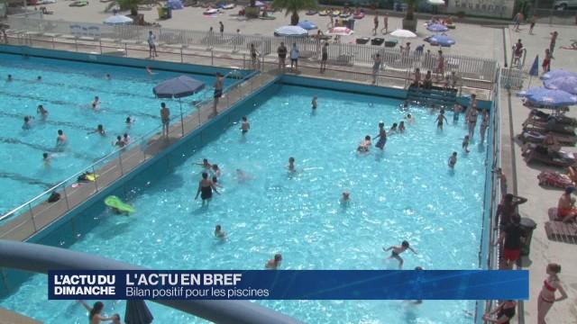 Bilan positif pour les piscines