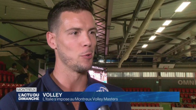 L'Italie s'impose au Montreux Volley Masters