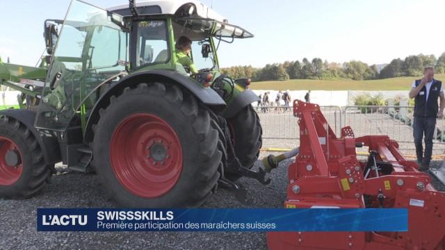 Première participation des maraîchers aux Swissskills