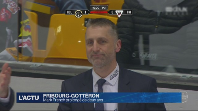 Mark French prolongé de deux ans à Fribourg-Gottéron