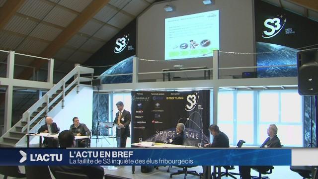 La faillite de S3 inquiète des élus fribourgeois