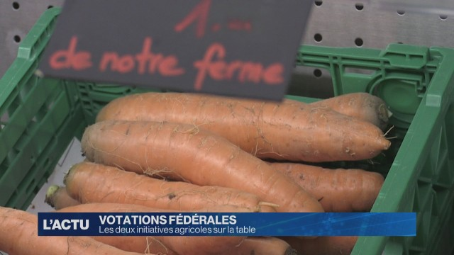 Votations: deux initiatives agricoles sur la table